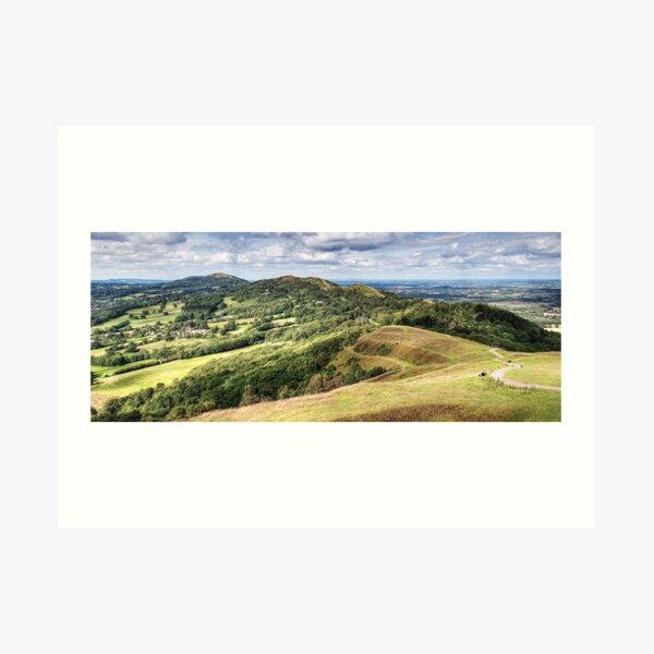 Malvern Hills Art Print