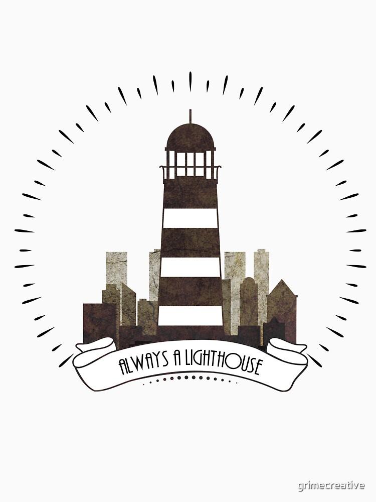 Bioshock - Always a lighthouse. by grimecreative