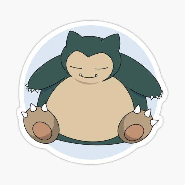 Cuddly Snorlax Sticker