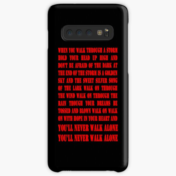 You'll Never Walk Alone - RED Samsung Galaxy Snap Case