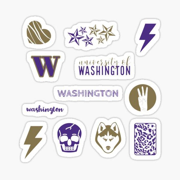 washington sticker pack Sticker