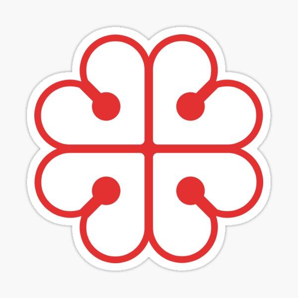 Montréal - Palette rouge Sticker