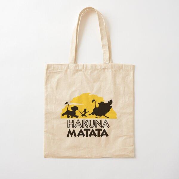 Hakuna Matata Cotton Tote Bag