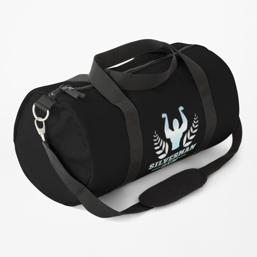 SILVERMAN GYM - Dumbell Nan-Kilo Moteru? Duffle Bag