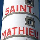 St Mathieu - Le Phare  by Jean-Luc Rollier
