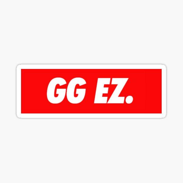 GG EZ box logo Sticker