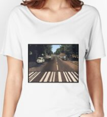 Blank Abbey road - no beatles Women's Relaxed Fit T-Shirt