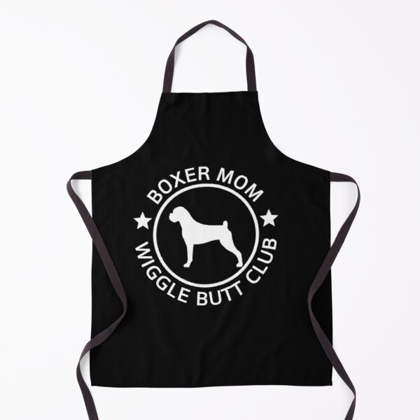 Boxer Mom Wiggle Butt Club Apron