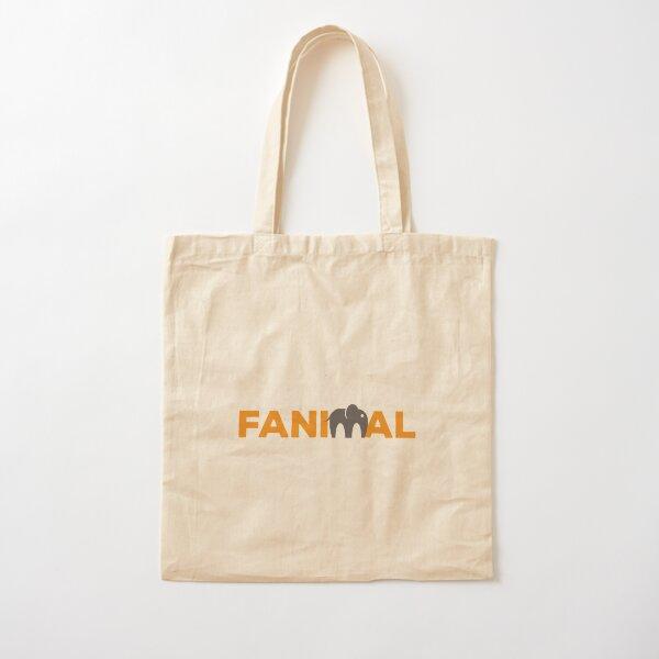 Fanimal Logo Tote Cotton Tote Bag
