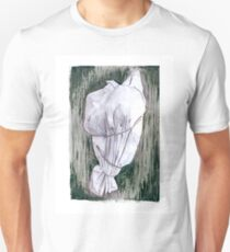 Study of a wrapped tree - Environmental art Unisex T-Shirt