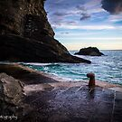 Vernazza's Sunset by Satom M Chhim