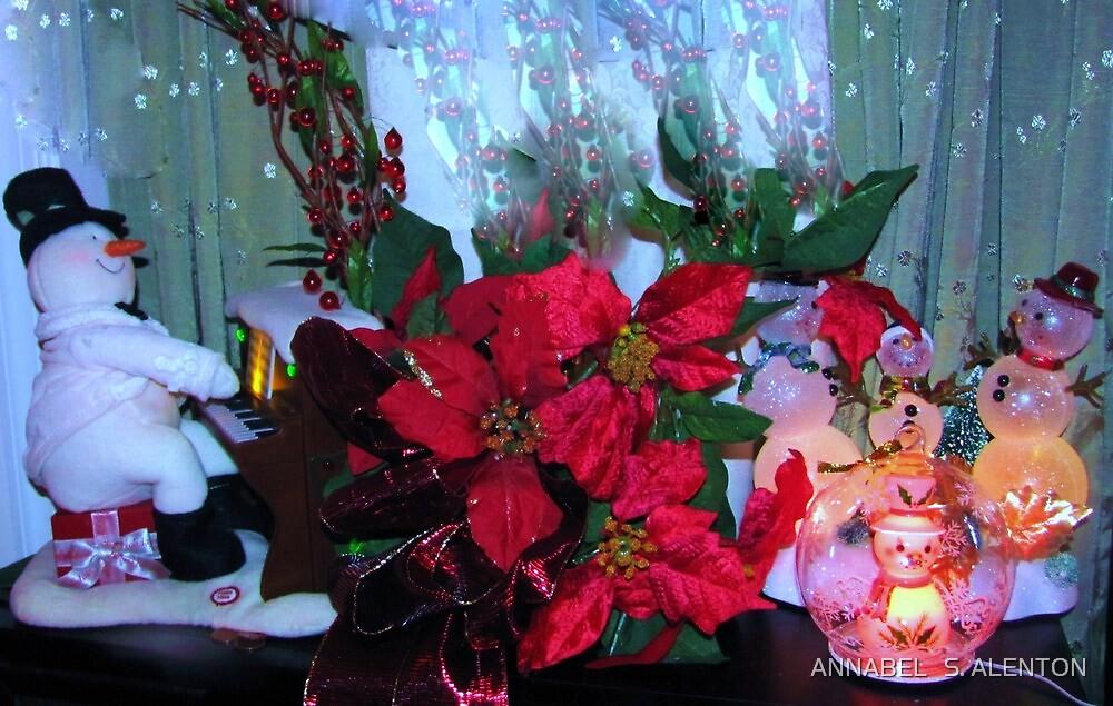 Christmas carols by ANNABEL   S. ALENTON