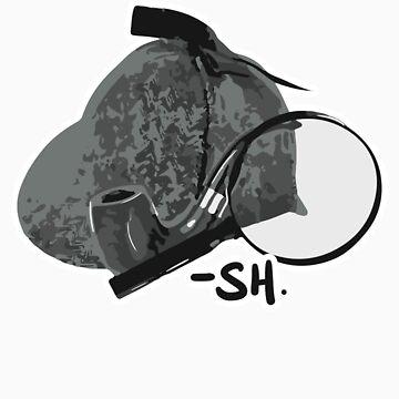 Sherlock Holmes paraphernalia by KaterinaSH