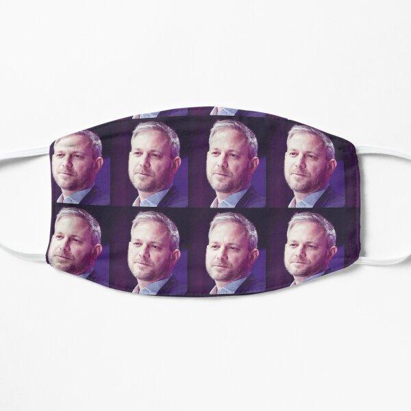 Funny  Prof. Brett Flat Mask