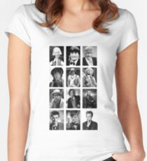 Doctor Who? Women's Fitted Scoop T-Shirt