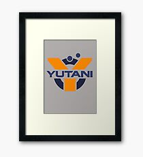 Yutani Corporation (pre Weyland takeover) Framed Print