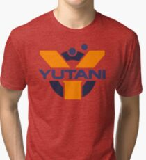 Yutani Corporation (pre Weyland takeover) Tri-blend T-Shirt