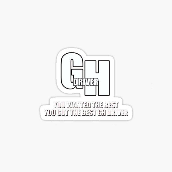 GrubHub Driver  Sticker