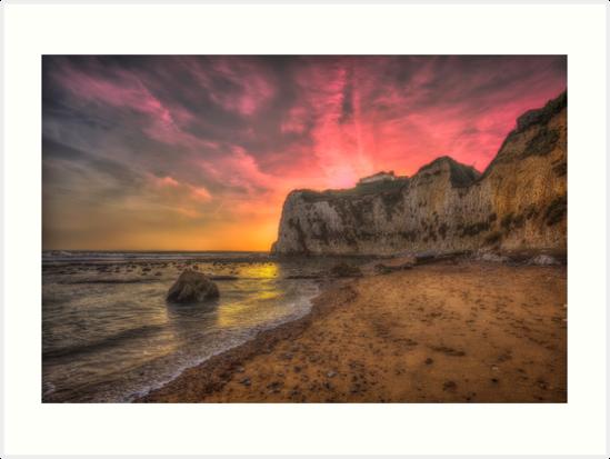 Freshwater Redoubt Sunset by manateevoyager
