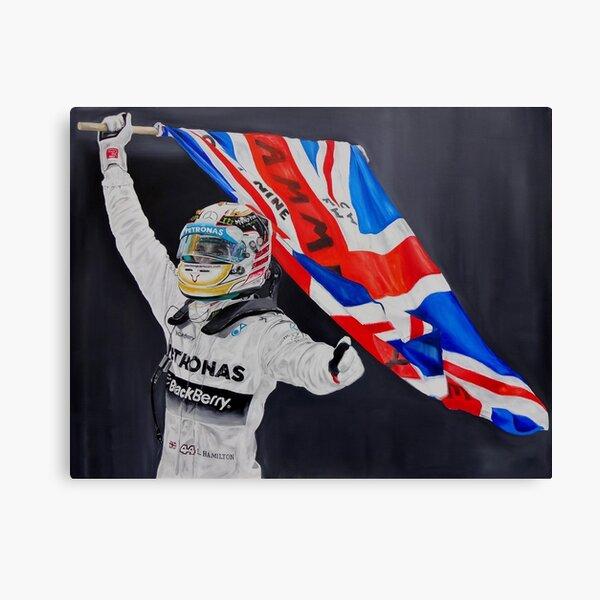 Lewis Hamilton Impression sur toile