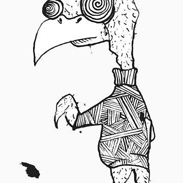 Creepy bird thing by SoniaAnna