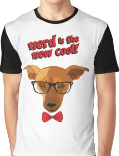 Hipster dog - Nerd is the new cool! Graphic T-Shirt
