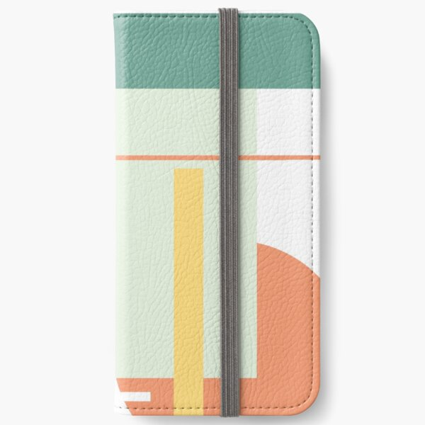Colourful Abstract shapes iPhone Wallet