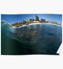 Dee Why point slab Poster