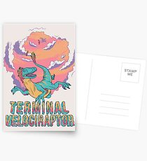 Terminal Velociraptor (Version 2) Postcards