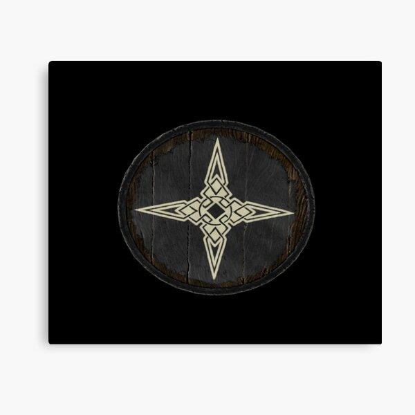 Dawnstar Shield  Canvas Print