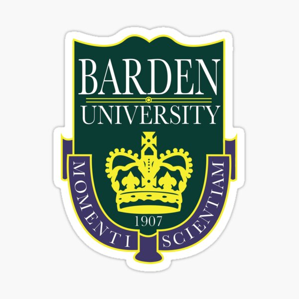 Barden University Sticker