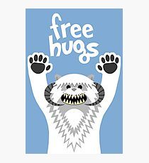 Monster Hugs Photographic Print