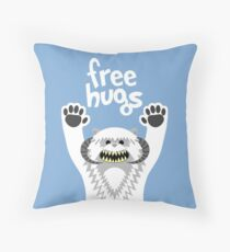 Monster Hugs Throw Pillow