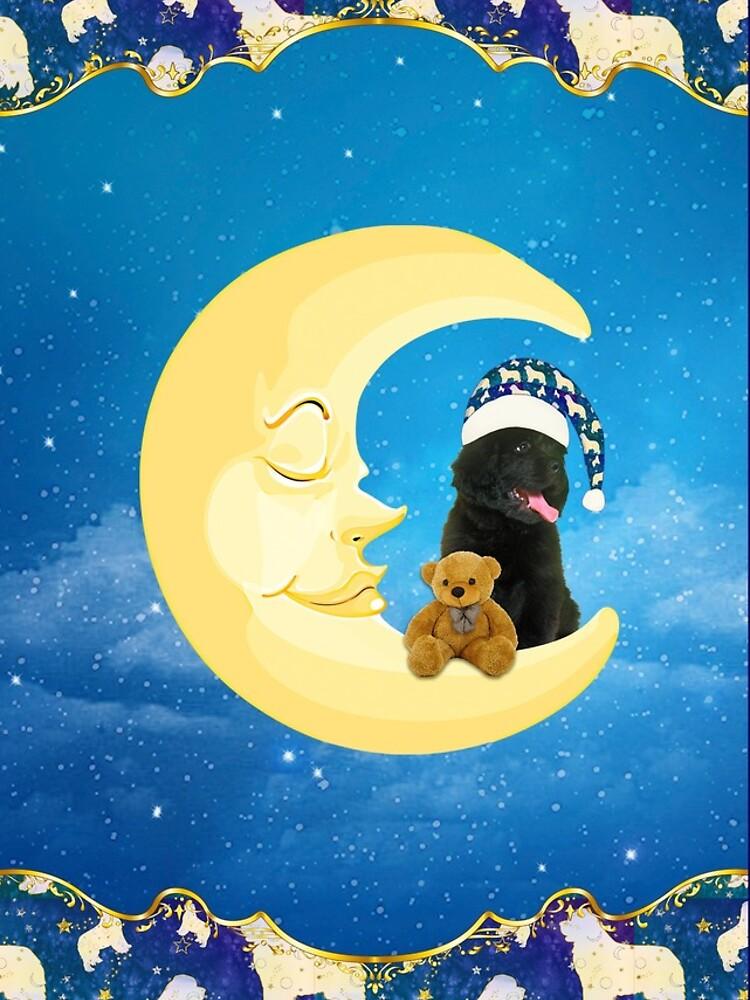 Night Night Little Newfie by itsmechris