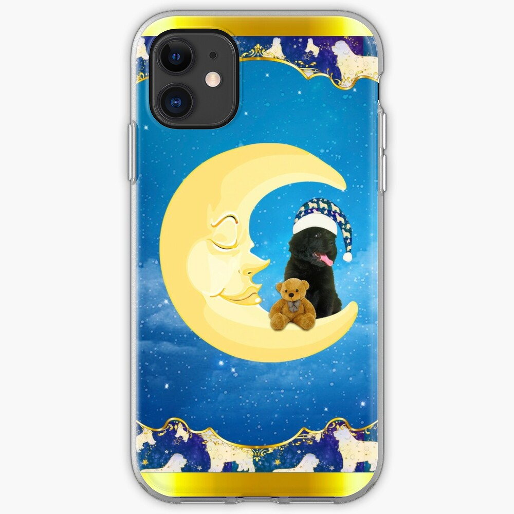 Night Night Little Newfie iPhone Case & Cover