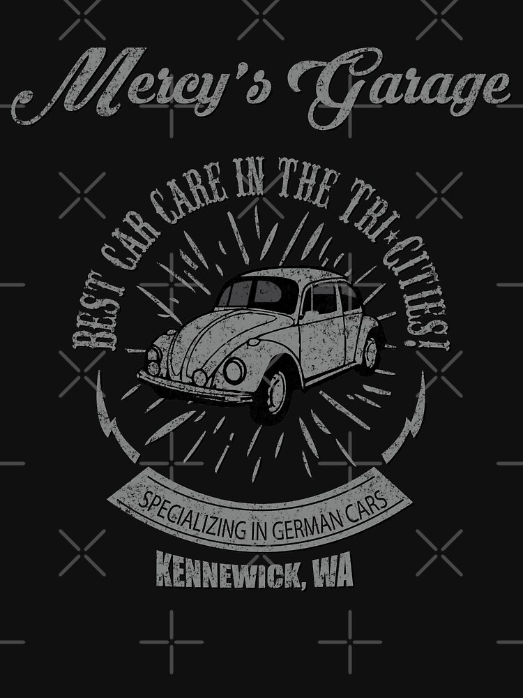 Mercy's Garage Vintage by writtenwordnerd