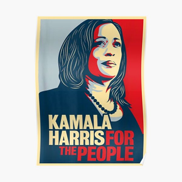 Kamala Harris For the People  Poster