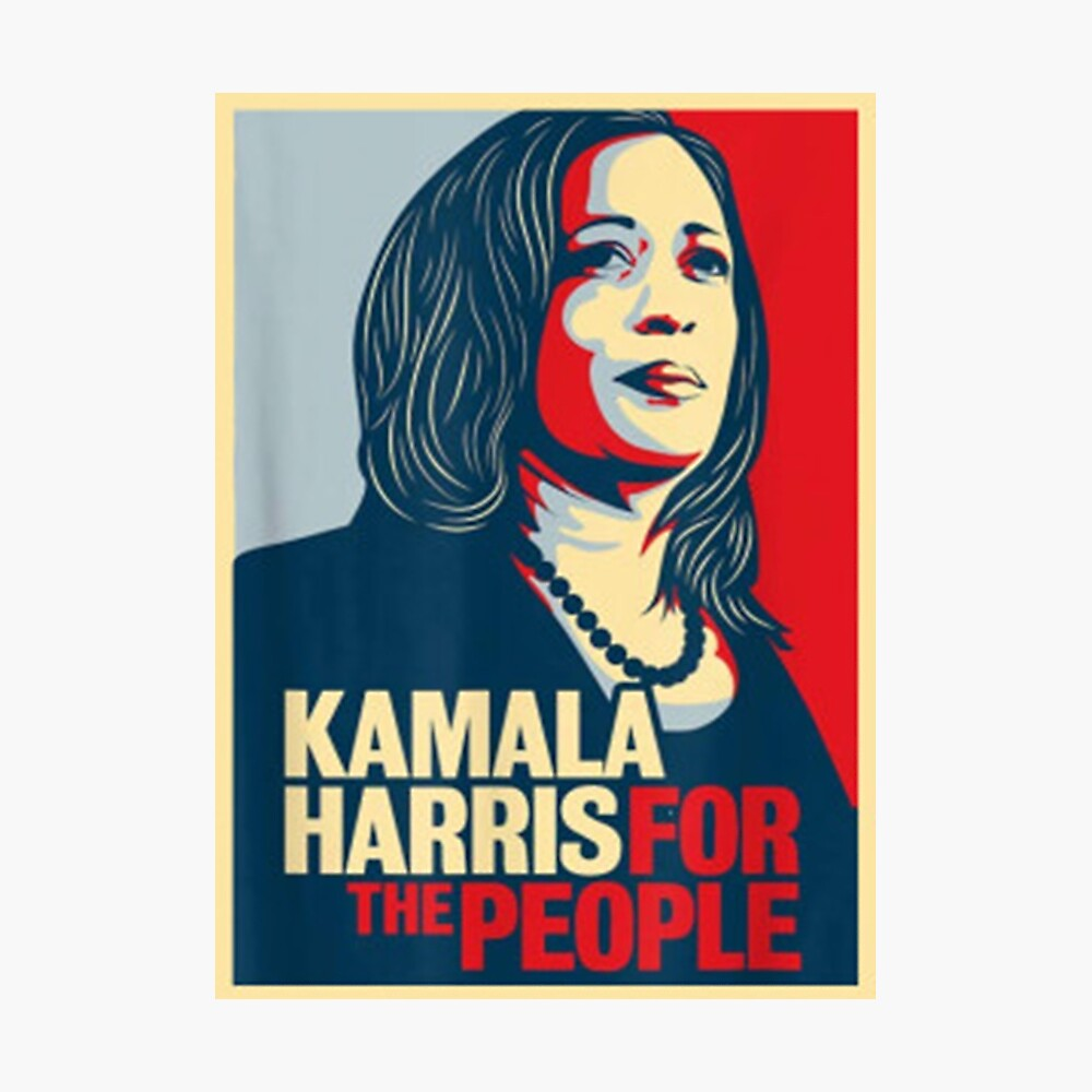 Kamala Harris For The People Poster By Abdenacer Redbubble