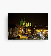 beverley minster lit for macmillan Canvas Print