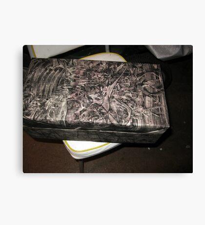 Dah Dah Gift Wrap Canvas Print