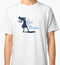 Girl Detective (dark on light) Classic T-Shirt