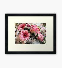 Flowers for Xmas Framed Print