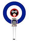 Mod Girl - Modette by drawgood