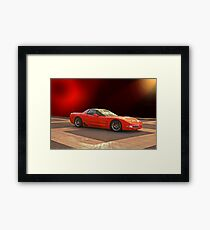 1997 C5 Chevrolet Corvette Z06 Framed Print