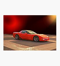 1997 C5 Chevrolet Corvette Z06 Photographic Print