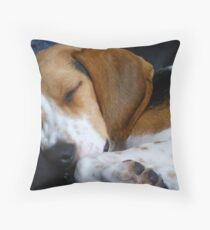 Beagle dog Throw Pillow