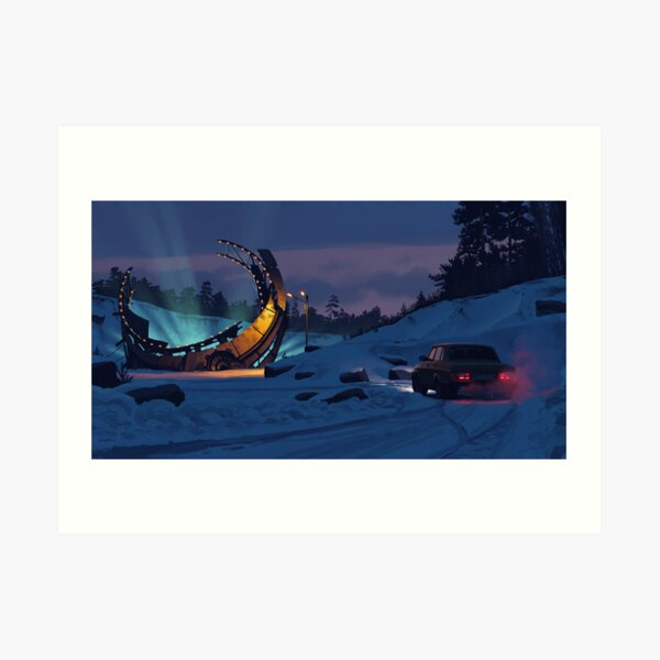 December Salvage Art Print