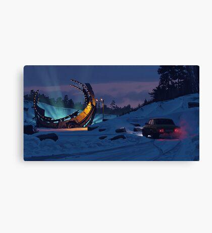 December Salvage Canvas Print