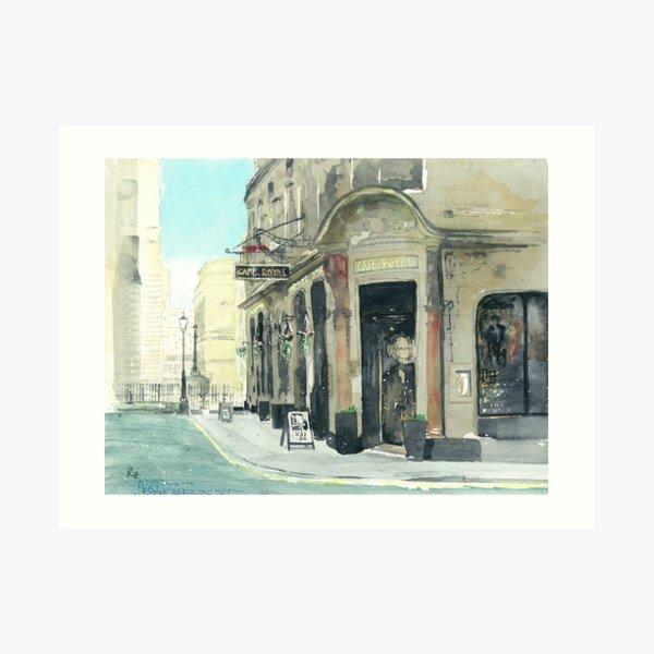 Cafe Royal Art Print