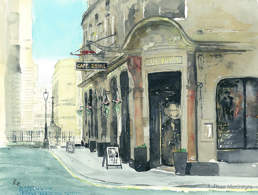 Cafe Royal by Ross Macintyre